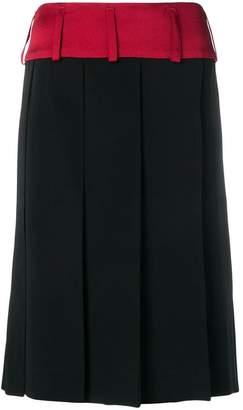 Marni large pleat skirt