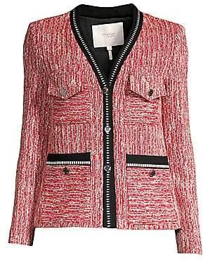 Maje Women's Tweed Jacket