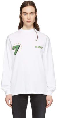 KAR / LArt de LAutomobile White GT Graphic Long Sleeve T-Shirt