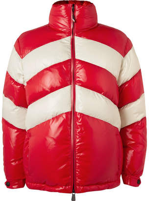 Moncler Golzern Colour-Block Quilted Down Ski Jacket