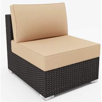 Borealis Outdoor Wicker Chair with Sunbrella Cushions Borealis