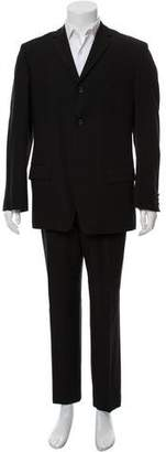 Dries Van Noten Wool Three-Button Suit