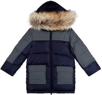 Il Gufo Fur Trim Coat