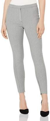 Reiss Deya Jacquard Skinny Pants