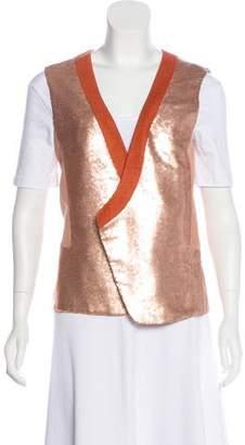 Diane von Furstenberg Joline Embellished Vest