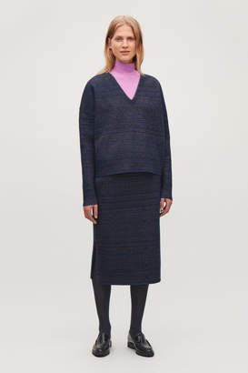 e9b08fa49d3a Cos Purple Women's Sweaters - ShopStyle