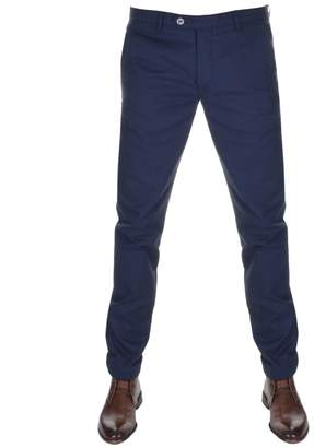 Ted Baker Hollden Slim Fit Chino Trousers Navy