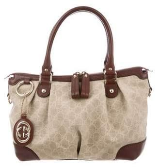 Gucci GG Medium Sukey Top Handle Bag Khaki GG Medium Sukey Top Handle Bag