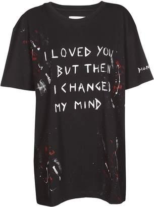 Faith Connexion Slogan Print T-shirt
