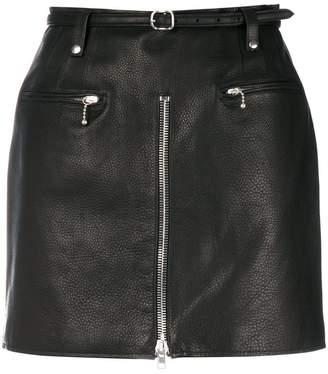 Alexander Wang mini biker skirt