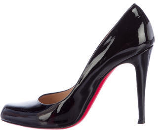 Christian Louboutin  Christian Louboutin Simple Patent Leather Pumps