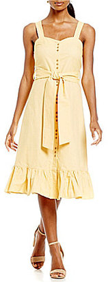 Cremieux Jane Ruffle Hem Dress $129 thestylecure.com