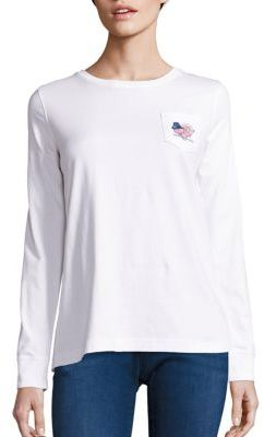 Vineyard Vines Cotton Jersey Thanksgiving Logo Tee $49.50 thestylecure.com