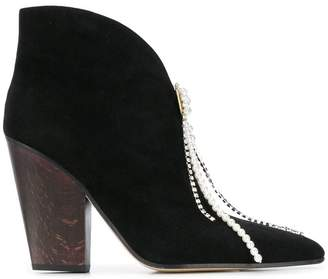 Magda Butrym pointed toe booties