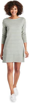Vineyard Vines Garment-Dyed Striped Long-Sleeve Knit Dress