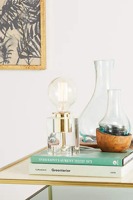 Anthropologie Bettany Lucite Accent Lamp