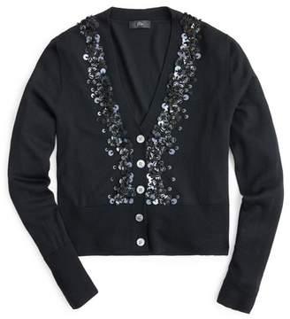 J.Crew J. Crew Sequin Embellished Cardigan Sweater