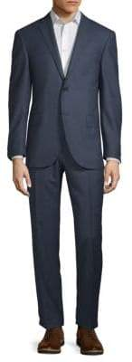 Corneliani Wool Houndstooth Suit