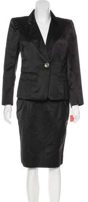 Sonia Rykiel Satin Skirt Suit