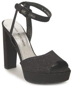 Stuart Weitzman Pranks - Noir Platform Sandal