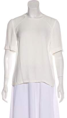 A.L.C. Lightweight Short Sleeve Blouse