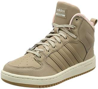 newest collection fccf1 c038b adidas Womens Cf Hoops Mid WTR W Hi-Top Trainers, Brown (Trace Khaki