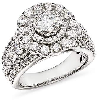 Bloomingdale's Diamond Halo Engagement Ring in 14K White Gold, 2.45 ct. t.w. - 100% Exclusive