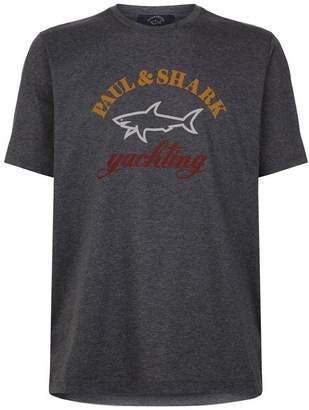 Paul & Shark Shark Logo T-Shirt
