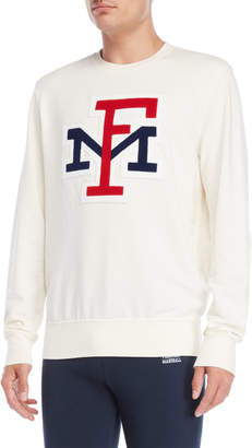 Franklin & Marshall Milk Varsity Logo Sweatshirt