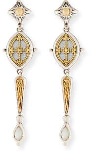Konstantino Hestia Mother-of-Pearl Dangle Earrings