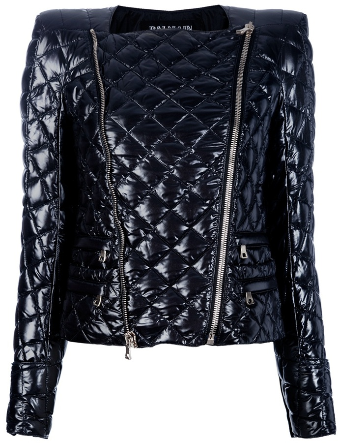 Balmain Quilted shell jacket