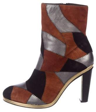 Rodarte Suede Ankle Boots Black Suede Ankle Boots