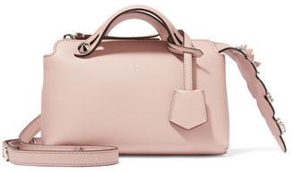 Fendi - By The Way Mini Appliquéd Leather Shoulder Bag - Blush $2,050 thestylecure.com