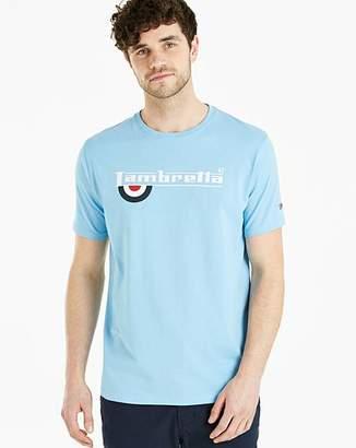 Lambretta Half Target T-Shirt Long
