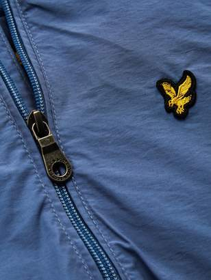 ec1cf2c98 Lyle & Scott Boys Classic Hooded Wind Cheater Jacket - Blue