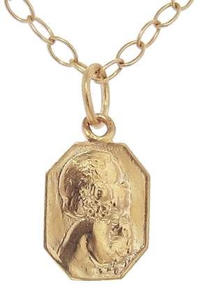 Cathy Waterman Classic Child Charm - Custom Engraved - Rose Gold
