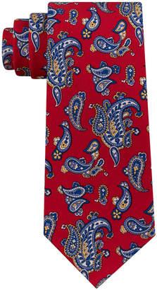 Club Room Men's Pine Paisley Silk Tie, Created for Macy's