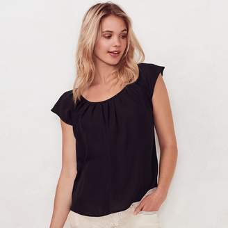 Lauren Conrad Women's Love, Lauren Pleated Top
