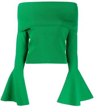 SOLACE London off-shoulder sweater