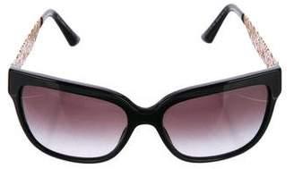 Dolce & Gabbana Square Laser Cut Sunglasses