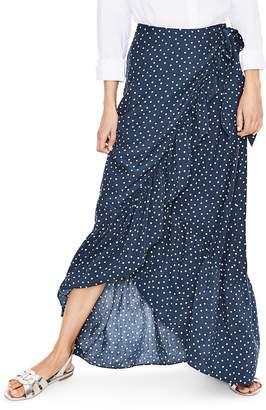 Boden Maxi Wrap Skirt