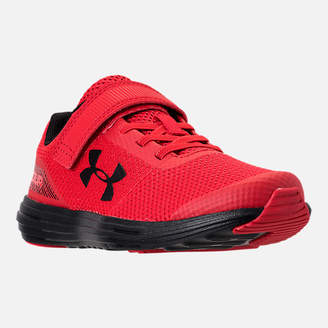 Under Armour Boys' Little Kids' Surge AC Hook-and-Loop Closure Running Shoes