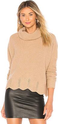 Autumn Cashmere Zig Zag Shaker Sweater