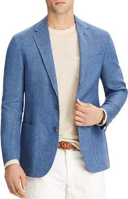 Polo Ralph Lauren Morgan Linen Slim Fit Sport Jacket $895 thestylecure.com