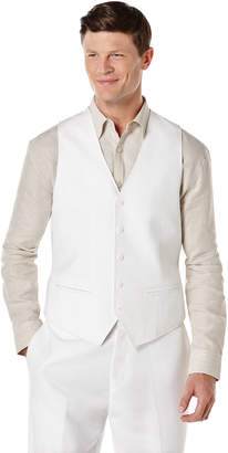 Cubavera Big & Tall Pinstitched Vest