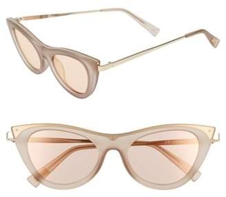 Le Specs Enchantress 49mm Retro Sunglasses