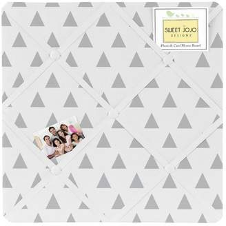 JoJo Designs Sweet Earth and Sky Triangle Memo Board