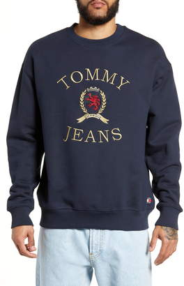 Tommy Jeans Embroidered Crest Sweatshirt