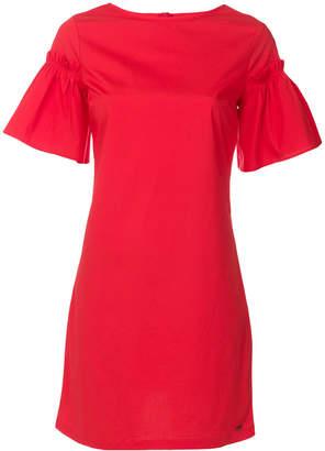 Armani Exchange flared sleeve dress