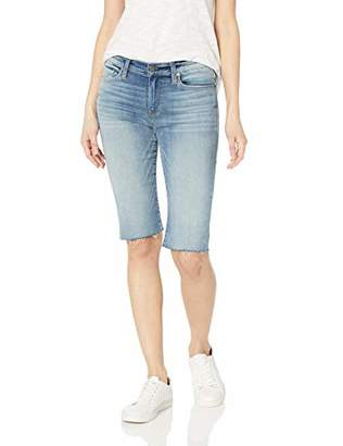 Hudson Jeans Women's AMELICA Cut Off Knee 5 Pocket Jean Shorts